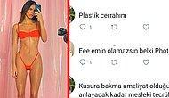 Kendall Jenner'ın Vücuduyla İlgili Birbirlerine Kafa Tutan Estetik Doktoru ve Bir Kullanıcının Diyalogu