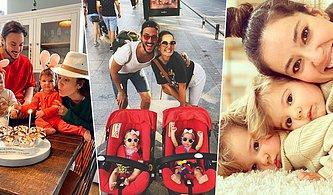 EDHO'nun Yıldızı Pelin Akil'in Eşi Anıl ve İkizleriyle Instagram'dan Paylaştığı İç Isıtan Aile Fotoğrafları