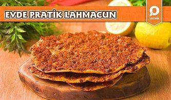 Türk Mutfağının En Sevilen Lezzetlerinden Biri Olan Lahmacun Evde Nasıl Yapılır?