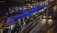 İstanbul'dan Akşam Manzaraları: Kısıtlama Öncesi Trafik Yavaşladı, Vatandaşlar Eve Ulaşma Telaşında