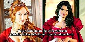 Osmanlı Saray Kadınlarının Hiçbir Yerde Duyamayacağınız En Gizli Güzellik Sırları