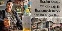 İstanbul'da Bardağı 2 TL'ye Ayçiçek Yağı, Tanesi 1,5 TL'ye Bebek Bezi...