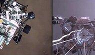 NASA, Perseverance Uzay Aracının Mars'a İniş Görüntülerini Yayınladı