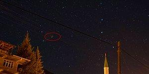 Amatör Fotoğrafçı Çekti, NASA'ya Gönderdi! Antalya Semalarında İlginç Bir Obje Görüntülendi