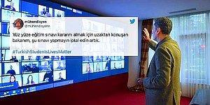 Öğrenciler Yüz Yüze Sınavlara Tepkili: #TurkishStudentsLivesMatter Etiketinde 2 Milyonu Aşkın Tweet Atıldı!