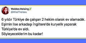 İki Doktor Maaşıyla Türkiye'de  Ev Alamadıklarını Söyleyen Twitter Kullanıcısı Tartışma Yarattı