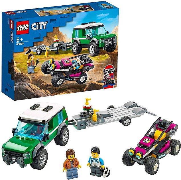 24. Çocukların hem eğlendiği hem de yaratıcılıklarının geliştiği harika bir Lego seti.