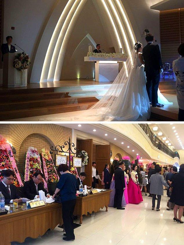 7. Bir Kore düğünü bir saatten fazla sürmez.