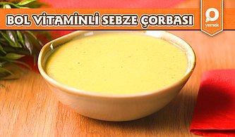 Soğuk Havalara Dikkat! Bol Vitaminli Sebze Çorbası Nasıl Yapılır?