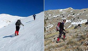 Antalyalı Dağcılardan Küresel Isınmayı Gözler Önüne Seren İki Fotoğraf