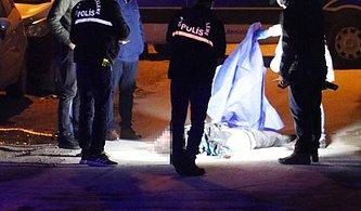 Motokuryeye Çarpan Araç Sürücüsü Kuryenin Cansız Bedenini Bırakıp Kaçtı