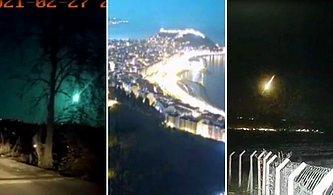 Geceyi Gündüze Çevirdi! Doğu Karadeniz'de Meteor Heyecanı