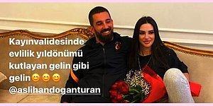 Arda Turan ve Eşinin Çok Konuşulan Evlilik Yıl Dönümü Fotoğrafları