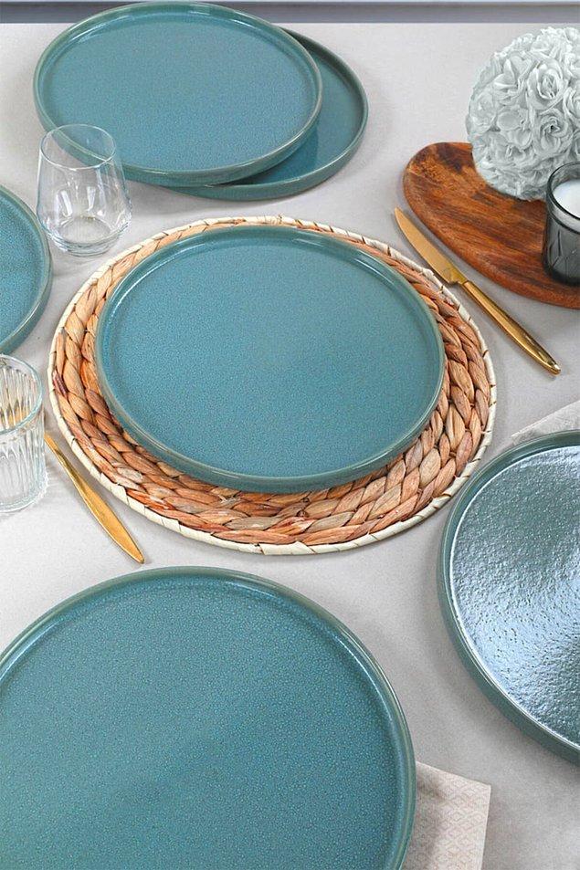 11. Keramika'nın tabakları çok güzel oluyor.