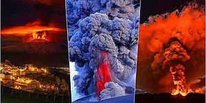 Son 6 Günde 4 Kez Faaliyete Geçen Etna Yanardağından Görünce Ufak Çaplı Bir Şok Geçireceğiniz 17 Fotoğraf