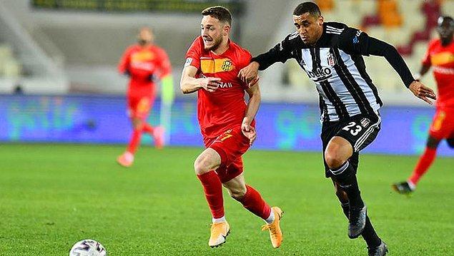 Süper Lig'in 28. haftasındaki Beşiktaş, Yeni Malatyaspor ile karşılaştı.