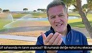 """Sarıgül'ün """"Golf Sahası""""nda Tarım Açıklaması Tepkilerin Odağında: 18 Numaralı Deliğe Nohut mu Ekeceğiz?"""