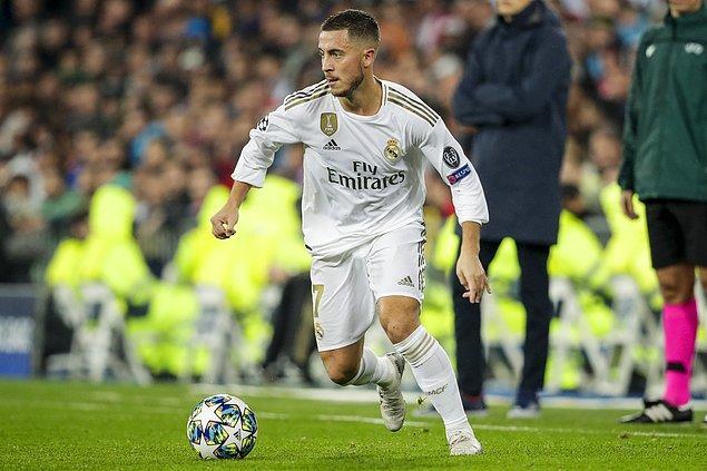 Eden Hazard, kariyerine Real Madrid'de devam ediyor.