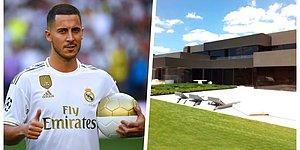 Ünlü Futbolcu Eden Hazard'ın Satın Aldığı 10 Milyon Pound'luk İnanılmaz Lüks Evi Dudaklarınızı Uçuklatacak