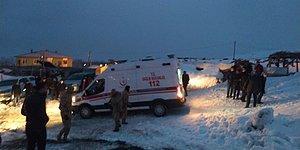 Bitlis'te Askeri Helikopter Düştü! 9 Şehit, 4 Yaralı Var