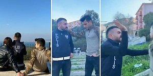 Polisin Askere Kadın İçin Tokat Attığı, İzleyenlerin Beynini Yakan TikTok Videosu