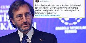 Fahrettin Altun, 'Eşcinsellik Propagandasına İzin Vermeyeceğiz' Sözleriyle Gündemde