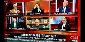 """CNN Türk Canlı Yayınında Küfür Skandalı: """"Amerika Bizi S..tikçe..."""""""