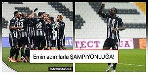 Gaziantep FK Karşısında Kartal'ı Aboubakar Uçurdu! Art Arda 5. Galibiyetini Alan Beşiktaş Liderliğe Yükseldi
