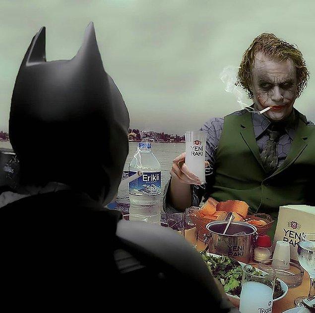 3. Dostların seni yalnız bırakmaz Batman. :)