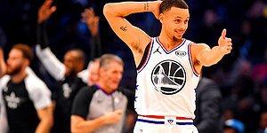 Stephen Curry'nin NBA All Star Üç Sayı Yarışmasını Kazanarak 'Üçlük Kralı' Olduğu Mükemmel Performansı