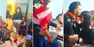 Kız İstemeye Giderken Aldığı Çiçeği Kahveler Gelene Kadar Geline Vermeyen Garantici Damat