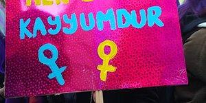 Kutlu Olsun! 8 Mart Feminist Gece Yürüyüşü'nde Bir Araya Gelen Kadınlardan Birbirinden Renkli 34 Pankart
