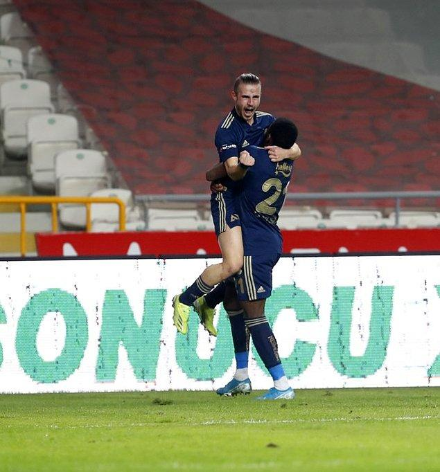 Fenerbahçe bu galibiyetle puanını 58'e yükseltti ve Galatasaray ile puanını eşitledi. İttifak Holding Konyaspor ise  32 puanda kaldı.