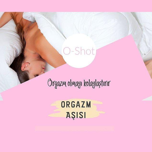 Orgazm aşısı da aslında artık neredeyse herkesin bildiği PRP uygulaması.