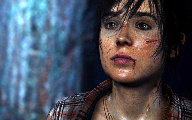 9. Ellen Page - Beyond Two Souls