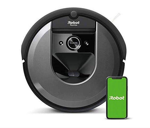 6. iRobot Roomba i7 Robot Süpürge