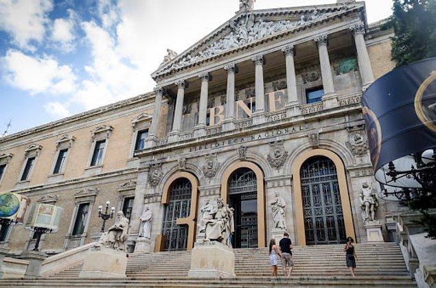 2. Madrid-İspanya Milli Kütüphanesi