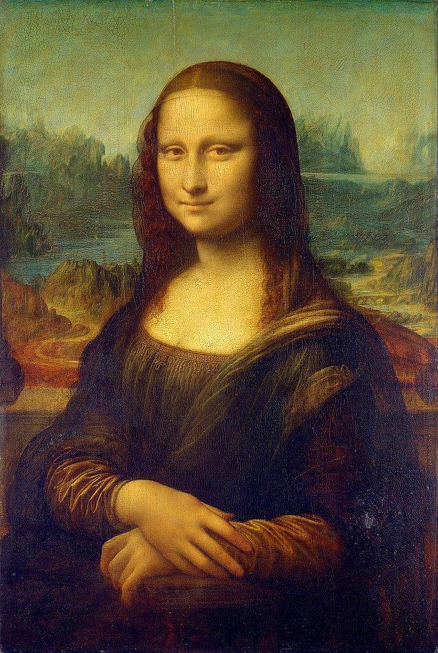Mona Lisa sürekli yanındaydı.