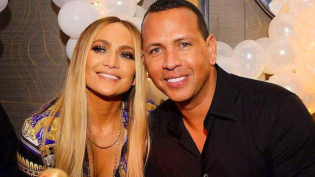 14. Jennifer Lopez ile nişanlısı Alex Rodriguez'in ayrıldığı söyleniyor!