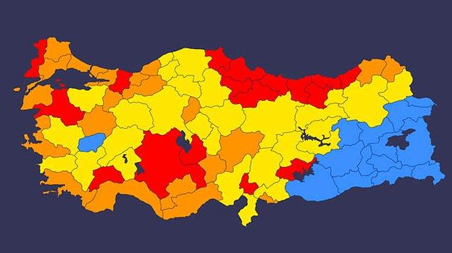 Risk haritası güncellenecek
