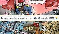 Misvak, 'Çanakkale Zaferi'nin Mimarı Abdulhamid' Karikatürü ile Alay Konusu Oldu