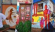 İzmir'de Harabe Mahallenin Sanat Merkezine Dönüştüğü Umurbey Sizin de Ülkeye Olan Umudunuzu Yeşertsin!