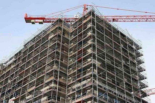 13. Moldova'da inşaat sektöründe Türk firmalarının yoğunluğu göze çarpıyor.