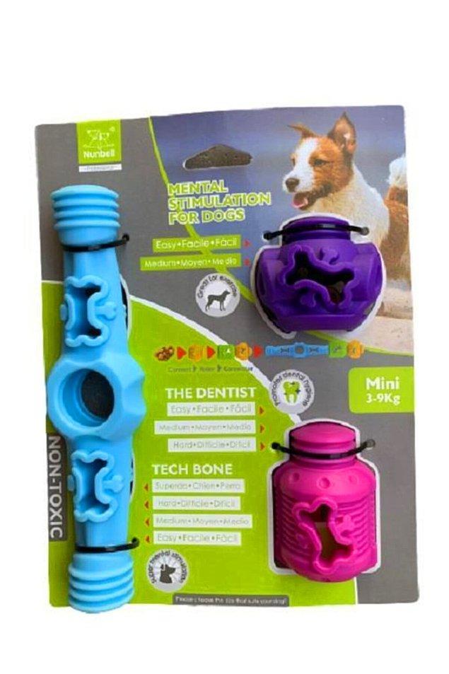 2. Örneğin 3-9 kg arası köpekler için bu oyuncak seti harika bir seçenek.
