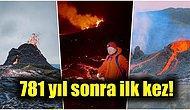 İzlanda'da Yer Alan Fagradals Yanardağı Binlerce Yıl Sonra Patladı, Ortaya Büyüleyici Görüntüler Çıktı!
