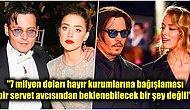 İyice Arapsaçına Döndü! Johnny Depp, Amber Heard'ü Boşanmalarından Elde Ettiği Parayı Bağışlamamakla Suçladı!