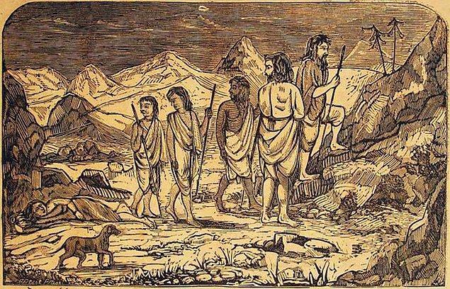Evet efendim, hikayemiz böyle. Aslında bu kıssanın özü ölümden sonra dirilişi temsil eder ve İslâm hariç Hint kutsal kitabı Mahabharata ve Yahudilik'te Talmud'da da farklı sayılarla geçer.