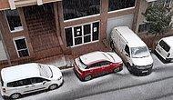 Mart Biterken Soğuk Hava Alarmı! İstanbul'da Kar Yağışı Başladı