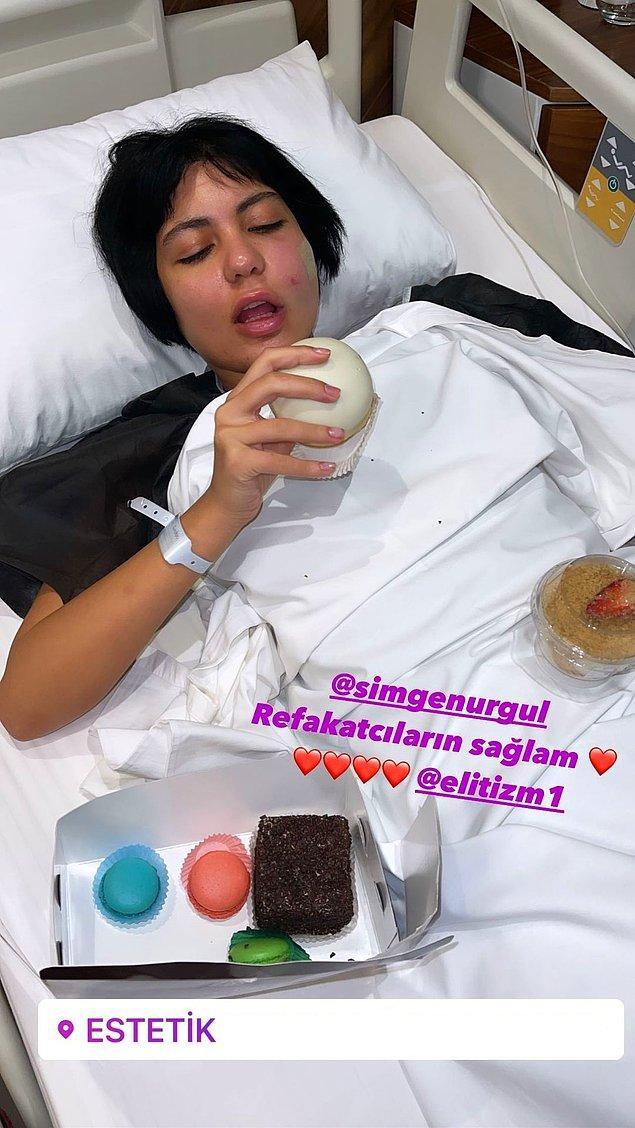 Bir estetik hastanesini etiketleyen Nihal Candan, başta sağlık sorununun bir estetik operasyon komplikasyonu olduğunu düşündürdü.