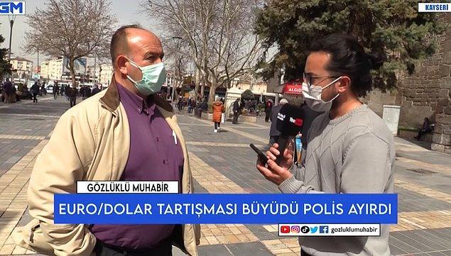 'Gözlüklü Muhabir' isimli YouTube kanalı mikrofonu sokaktaki vatandaşa uzattı. O vatandaş ekonomiyi övdü.